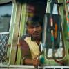 Busfahrer-in-Mumbai-Indien