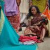 Marktfrau-Nashik-Indien